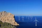 Fototapety Windräder im Meer