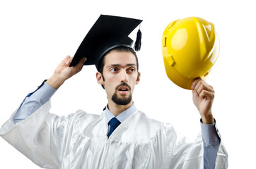 Graduate thinking of construction industry