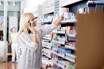 Female Looking for Medicines