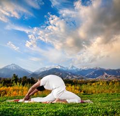 Yoga valakhilyasana pose