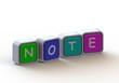 Cubes: note