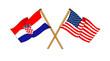 America and Croatia alliance and friendship