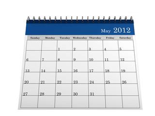 Calendar May 2012