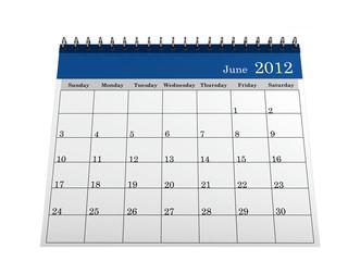 Calendar June 2012