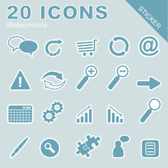 20 Icons Websymbole