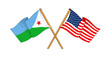 America and Djibouti alliance and friendship