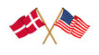 America and Denmark alliance and friendship