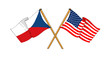 America and Czech Republic alliance and friendship