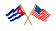 America and Cuba alliance and friendship
