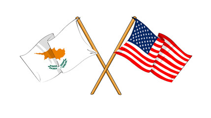 America and Cyprus alliance and friendship