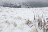 Cold Lunch, Kinder Scout, Peak District, England