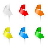 Arrows flags.