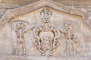 Detail of a church.