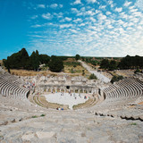 Amphitheater (Coliseum) in Ephesus (Efes) Turkey, Asia