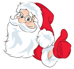 Santa Claus - cheer