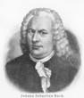Постер, плакат: Johann Sebastian Bach