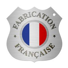 Médaillon fabrication française