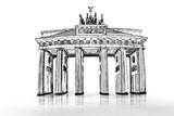 Fototapety Brandenburger Tor