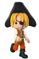pirate boy running