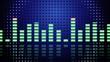 Music VU meters seamless loop