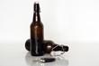 Schlüssel und Alkohol