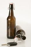 Bier und Schlüssel