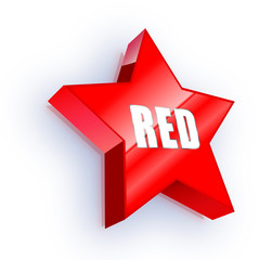 Button: Red Star