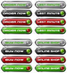 Set Web buttons n. 5