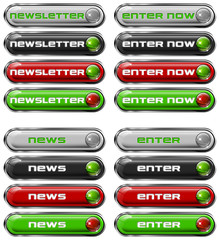 Set Web buttons n. 3