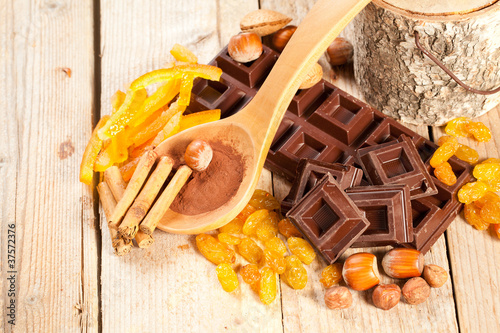 Chocolate, flavors and ingredients