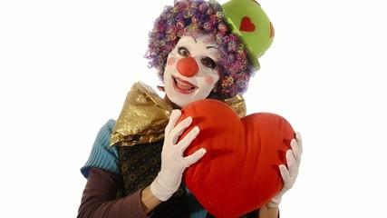 il cuore del clown