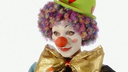 il clown e il palloncino