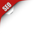 Seitenecke rot links SEO