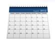 Calendar August 2012