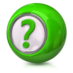 Green question icon