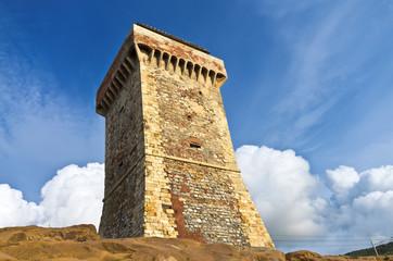 Toscana, Livorno: la Torre di Calafuria