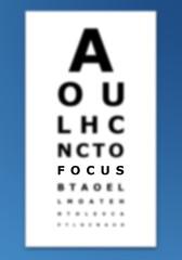 Focus eye chart