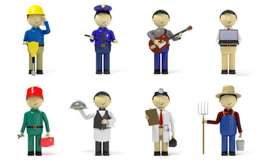 Worker characters