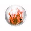 burning gas bubble