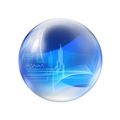 abstract bubble