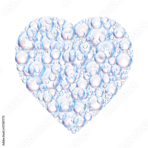 heart bubbles