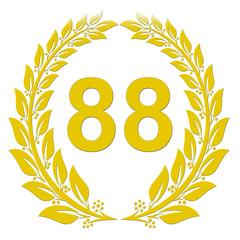 Lorbeerkranz Gold - 88