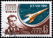 USSR - CIRCA 1961 Major Titov