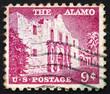 Postage stamp USA 1954 The Alamo