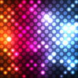 Fototapety Abstract background with neon effects and colorful lights