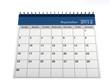 Calendar September 2012