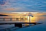 Small Jetty and Sunrise
