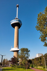View of Euromast tower at Rotterdam - Netherlands