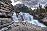 Fototapety Athabasca Waterfall Alberta Canada