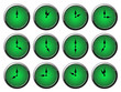 Clock Set - Mint Green